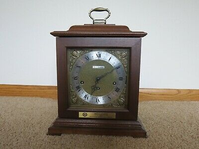 Vtg SETH THOMAS Mantle Clock A403-001 Germany 2 WESTMINSTER CHIMES