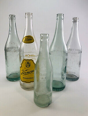 Vernor's Bottle Lot 1940's 1950's Deliciously Different Detroit's Drink Michigan