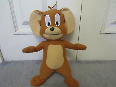 "TOM AND JERRY 14"" Stuffed Animal Plush Brown JERRY MOUSE Toy Factory"