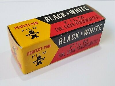 Perfect-Pan Black and White 120 Film. Rare expired film. Collectible.