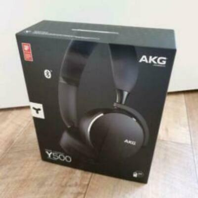 Harman AKG Y500 Wireless Bluetooth Foldable On-Ear Headphones - Black