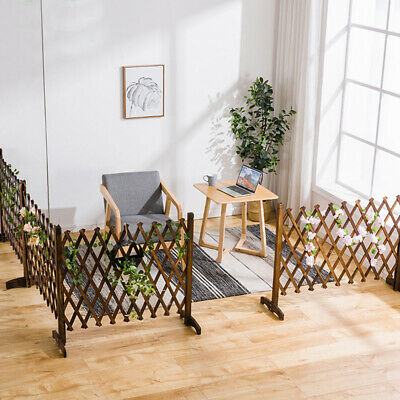 Expanding Trellis Wood Fence Growing Support Garden Screen Divider Freestanding