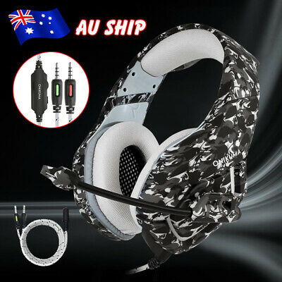 ONIKUMA K1 MIC Stereo Gaming Headset Bass Surround Headphone for PS4 Xbox One