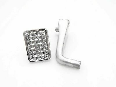 Polished Alloy Brake Pedal+Pedal Floor Suitable for Vespa Vbb/Chetak @JR
