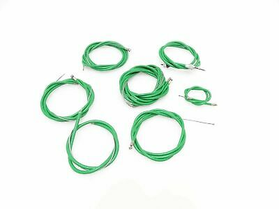 New Lambretta Gp Scooter Complete Cable Kit Solution (Green)  @Jr