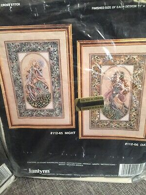 Pair Of Janlynn Cross Stitch Kits