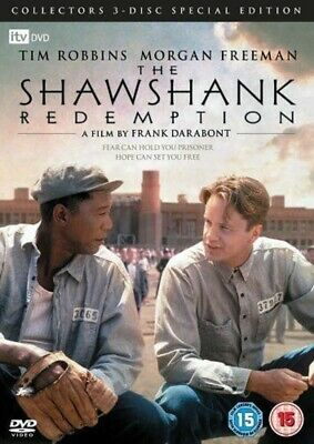 The Shawshank Redemption - DVD - BRAND NEW SEALED Tim Robbins Morgan Freeman
