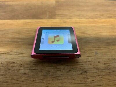 Apple iPod Nano 6th Generation 8gb Pink