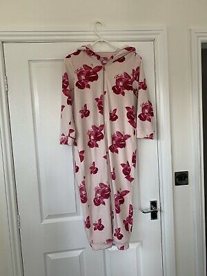 Girls Ted Baker All In One Hooded Floral Size 9-10 Years