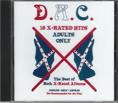 DAVID ALLAN COE 18 X Rated Hits CD allen