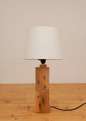 Table lamp made by recycled material
