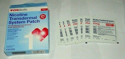 *EXPIRED 06/19 DISCOUNT* CVS Nicotine Transdermal System 21mg STEP 1 - 7 PATCHES
