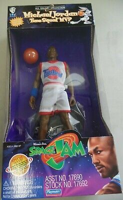 Michael Jordan Tune Squad MVP Warren Brothers Space Jam Fresh from Case