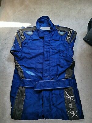 Sparco X Light K 7 Karting Racing Suit Blue Size 46