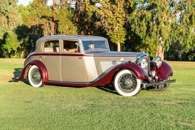 1936 Bentley 4 1/4 Litre  1936 Bentley 4 1/4 Litre, Silver/Burgundy with 2,957 Miles available now!