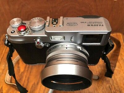 Fujifilm FinePix X100 12.0MP Digital Camera - Silver