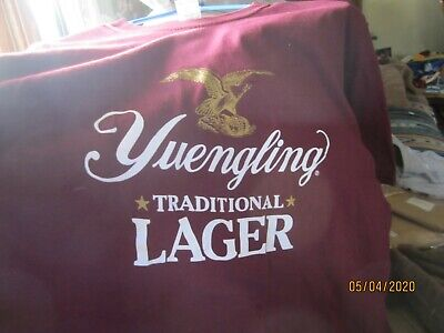 2- Yuengling Lager T-Shirts Size X-Large