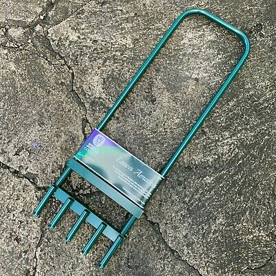 Spear & Jackson 5 Prong Hollow Tine Aerator - Lawn, Grass