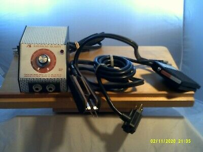 America Beauty Resistance Soldering Set-Power Unit, Foot Pedal, Pinch Electrodes