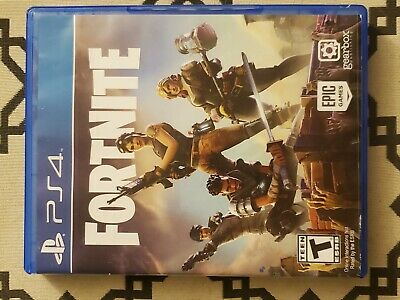 fortnite ps4 hard copy opened great condition adult owned