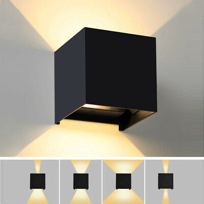 Applique Cubo Lámpara Pared Luz LED Ajustable Bidireccional 6w 10w 40w IP65 LED