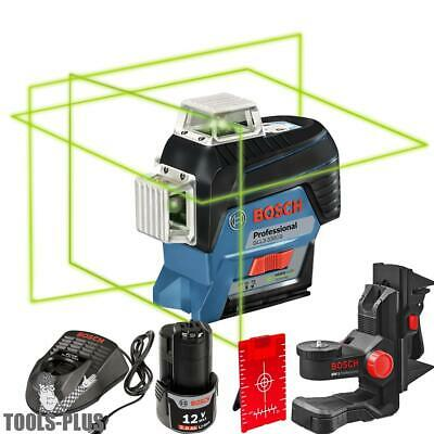 Bosch GLL3-330CG 360º Connected Three-Plane Leveling + Alignment-Line Laser New