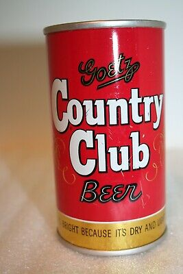 Country Club Beer 12 oz. flat top beer can from St. Joseph, Missouri
