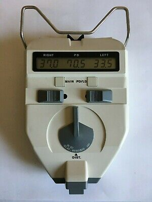 Shin-Nippon PD Pupil Distance Meter Model PD-8211 & Distometer (optician equpt)