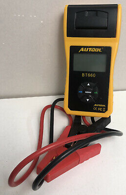 Autool BT-660 Auto Battery System Tester - FAST SHIPPING