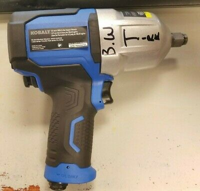 """NEW/READ - Kobalt Tools 1/2"""" Air Impact Wrench Model SGY-AIR236 1,000 ft/lbs"""