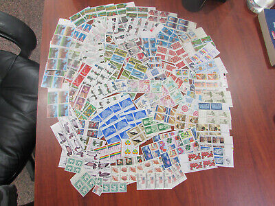 468 MNH US 22c Stamps $103.00 Face Value Discount Postage, Most in Blocks