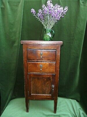 Rare Antique 19Th C Petite Travelling Cupboard