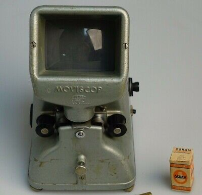 Moviscop Zeiss Ikon 16 mm viewer with Bulbs