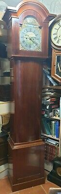 Vintage Norwegian 8 Day Grandfather Clock. Delivery Arranged