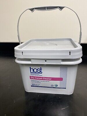 Host Dry Carpet Cleaner for Dry Extraction Cleaning System - 12lb Bucket