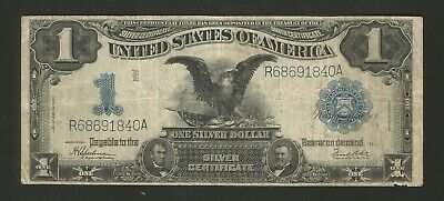 FR. 236 One Dollar ($1) Series of 1899 Silver Certificate - Black Eagle