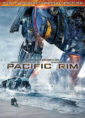 Pacific Rim (DVD, 2013, 2-Disc Set, Special Edition), Preowned Very Good Cond!