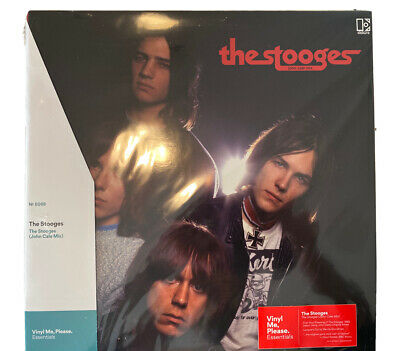 Iggy Pop and The Stooges John Cale Mix Vinyl Me Please VMP Colored w/Art Print