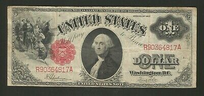 FR. 39 One Dollar ($1) Series of 1917 United States Note - Legal Tender