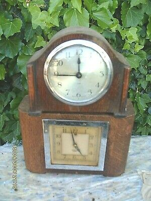 Clock Parts 2 Clock For Spares To  Repair  Untested 1 Electric