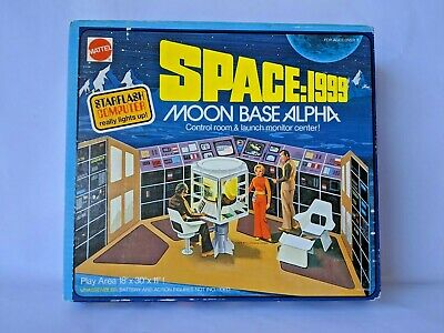 Space 1999 Moonbase Alpha Control Room & Launch Monitor Center Sealed!!
