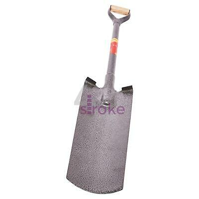 Solid Forged Drain Shovel 1120mm Digging Shovelling Mixing Clearing Trench Pipes