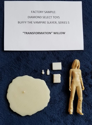 "Buffy ""Transformation"" Willow 6"" Chase Figure Original Factory Sample DST"