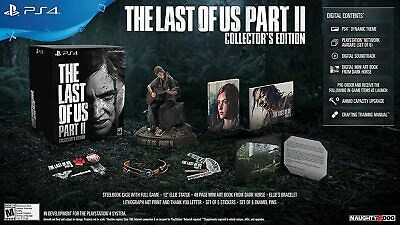 The Last Of Us Part 2 Ii: Collector's Edition - Sony Playstation 4 Ps4! Preorder