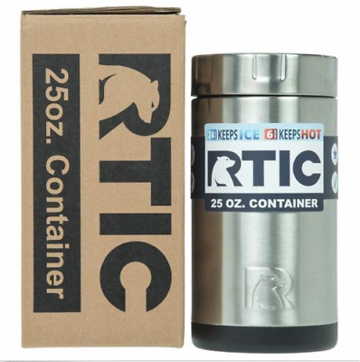 RTIC Insulated Food Container Stainless Steel, 25oz Cooler Lunch thermos hotcool
