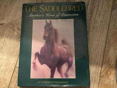 Rare Saddlebred Book: Saddlebred America's Horse of Distinction 1991 w/Dustjack.