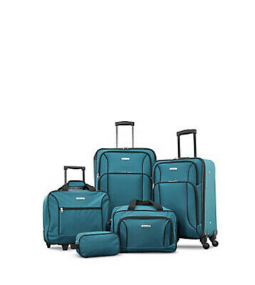 New American Tourister 5 Piece Spinner Luggage Set