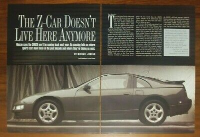 Nissan 300Zx Magazine Article Collectible Automobile The Z Car