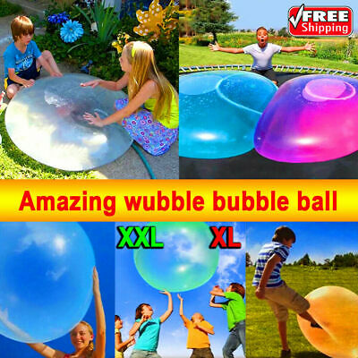 4pc 70CM Water-filled Interactive Rubber Big Amazing Bubble Balls By BubbleWorld