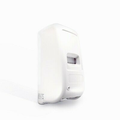 Automatic soap and gels dispenser. Touch free, white, 1000 ml
